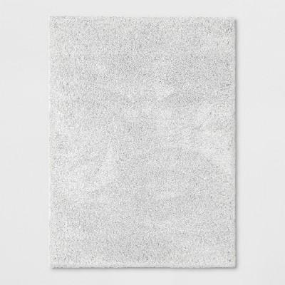 Cream Solid Woven Area Rug 5'X7' - Threshold™