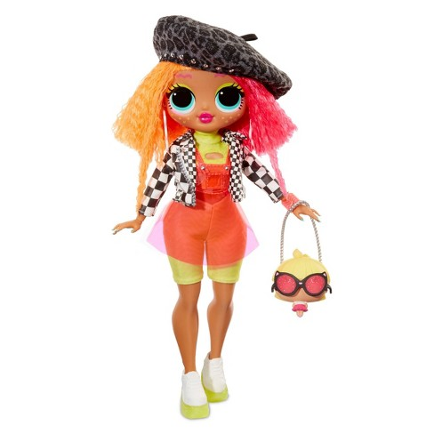L.O.L. Surprise! O.M.G. Neonlicious Fashion Doll with 20 Surprises - image 1 of 4