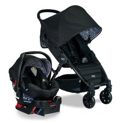 Britax Pathway & B-Safe 35 Travel System - Sketch