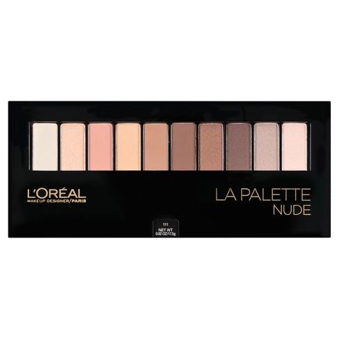 L'Oreal Paris Colour Riche La Palette Nude Eye Shadow - 0.10oz - image 1 of 4