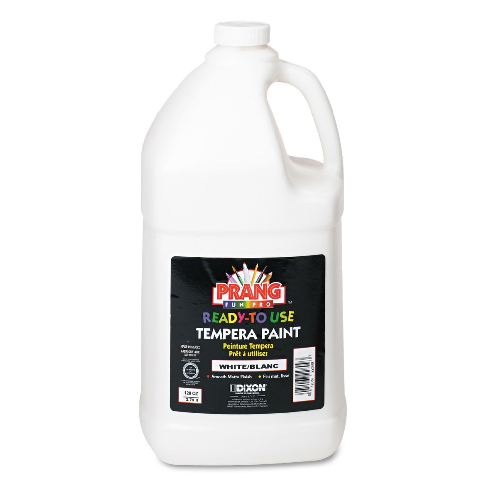 1gal Tempera Paint Ready-to-Use White - Prang