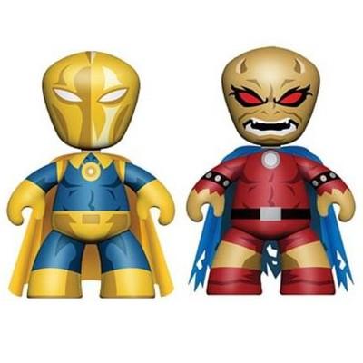 """Mezco Toyz DC Universe 2"""" Mini Mezitz 2 Pack Dr. Fate & Demon Etrigan Figures"""