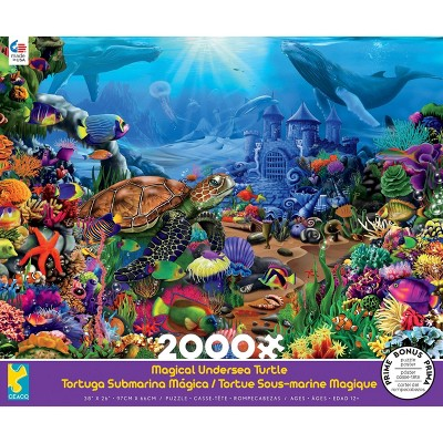 Ceaco Magical Undersea Turtle Jigsaw Puzzle - 2000pc
