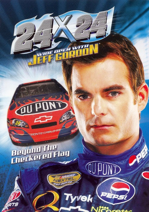 24x24 wide open with jeff gordon (DVD) - image 1 of 1
