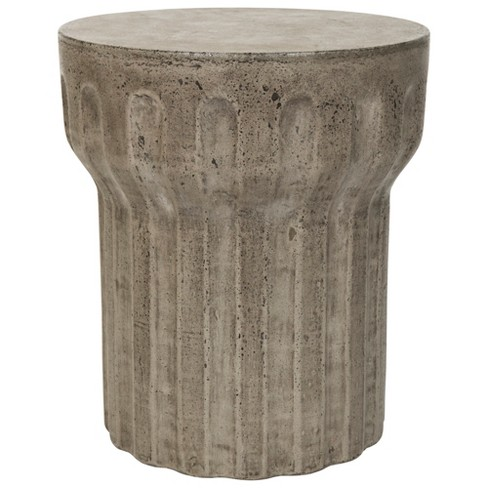 Vesta Round Concrete Accent Table - Safavieh® - image 1 of 4