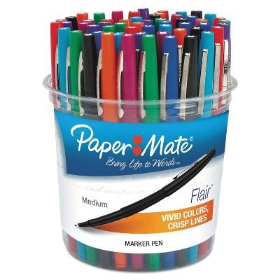 Paper Mate Flair 48ct Felt Tip Marker Pens Medium - Assorted Colors