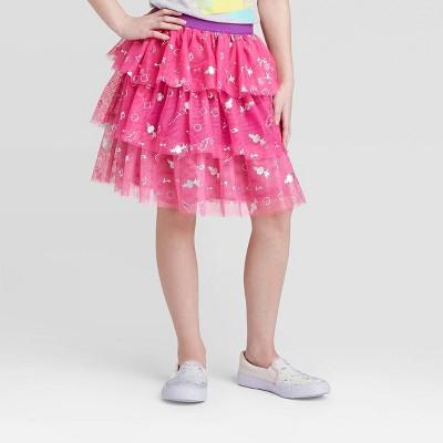 Girls' Poppy Tutu Skirt - Purple S