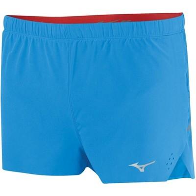 mizuno split running shorts