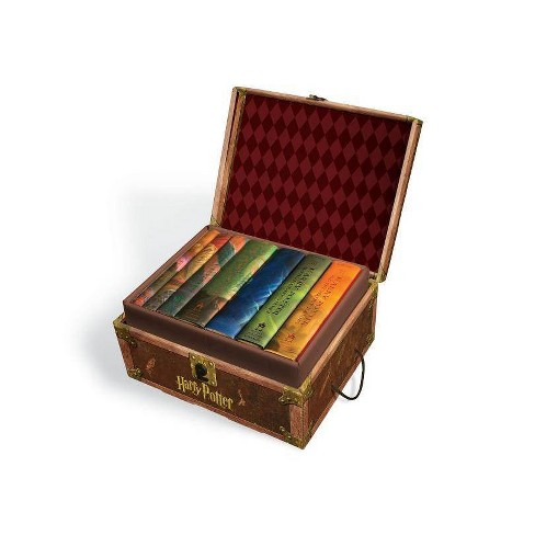 Harry Potter Hard Cover Boxed Set: Books #1-7 - by  Rowling J K & Inc Scholastic (Mixed media product) - image 1 of 1