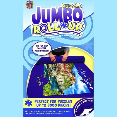 MasterPieces Inc MasterPieces Jumbo Jigsaw Puzzle  Roll Up Mat | 48x36 Inches