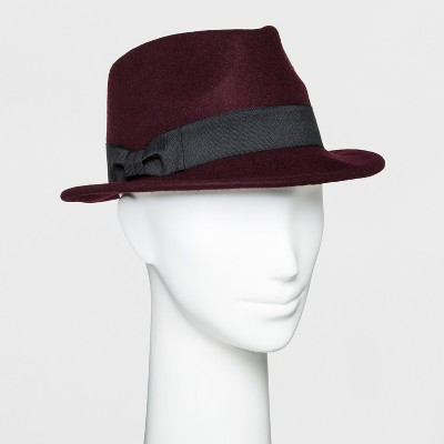 About this item Women\u0027s Porkpie With Bow Fedora - A New Day™ : Target