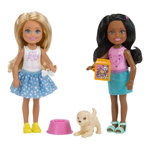 Barbie Chelsea Dolls and Puppy Playset - image 1 of 2