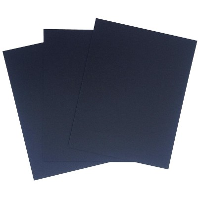 Crescent No. 8 Ultra-Black Mounting Board, 11 x 14 Inches, pk of 40