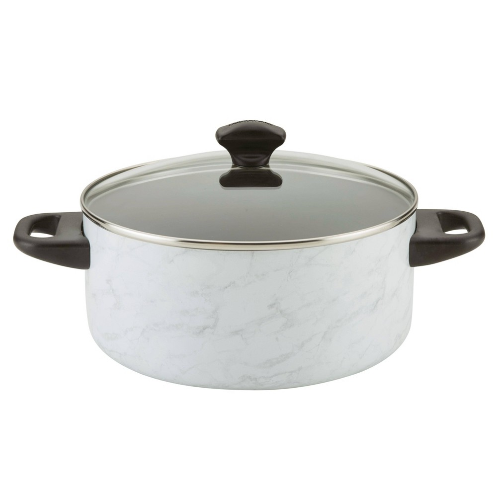 Image of Farberware 5qt Aluminum Reliance Pro Dutch Oven Marble