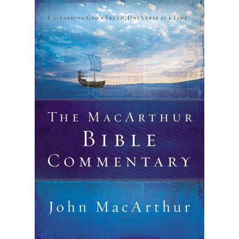 The MacArthur Bible Commentary - by  John F MacArthur (Hardcover) - image 1 of 1