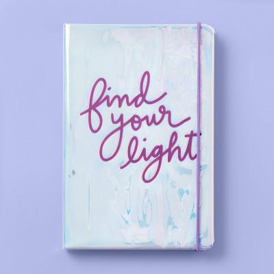 Find Your Light Debossed Iridescent Journal - More Than Magic™