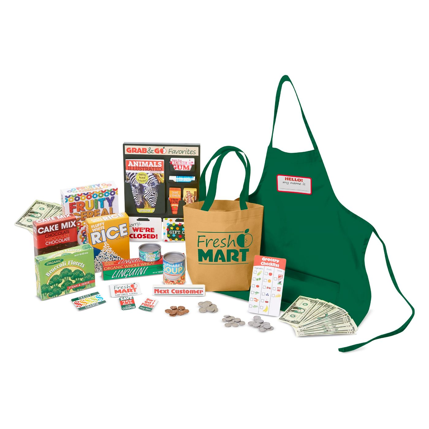 Melissa & Doug Fresh Mart Grocery Store Companion Collection - image 1 of 6