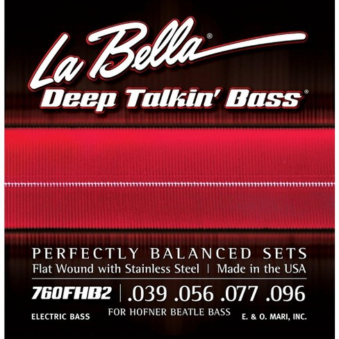 LaBella 760FHB2 Beatle Bass Flat Wound Light Electric Bass Strings - image 1 of 1