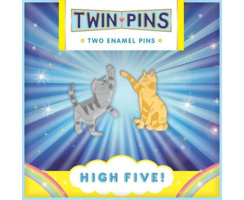 Pin Pals High Five! : 2 Enamel Pins (Accessory) - image 1 of 1