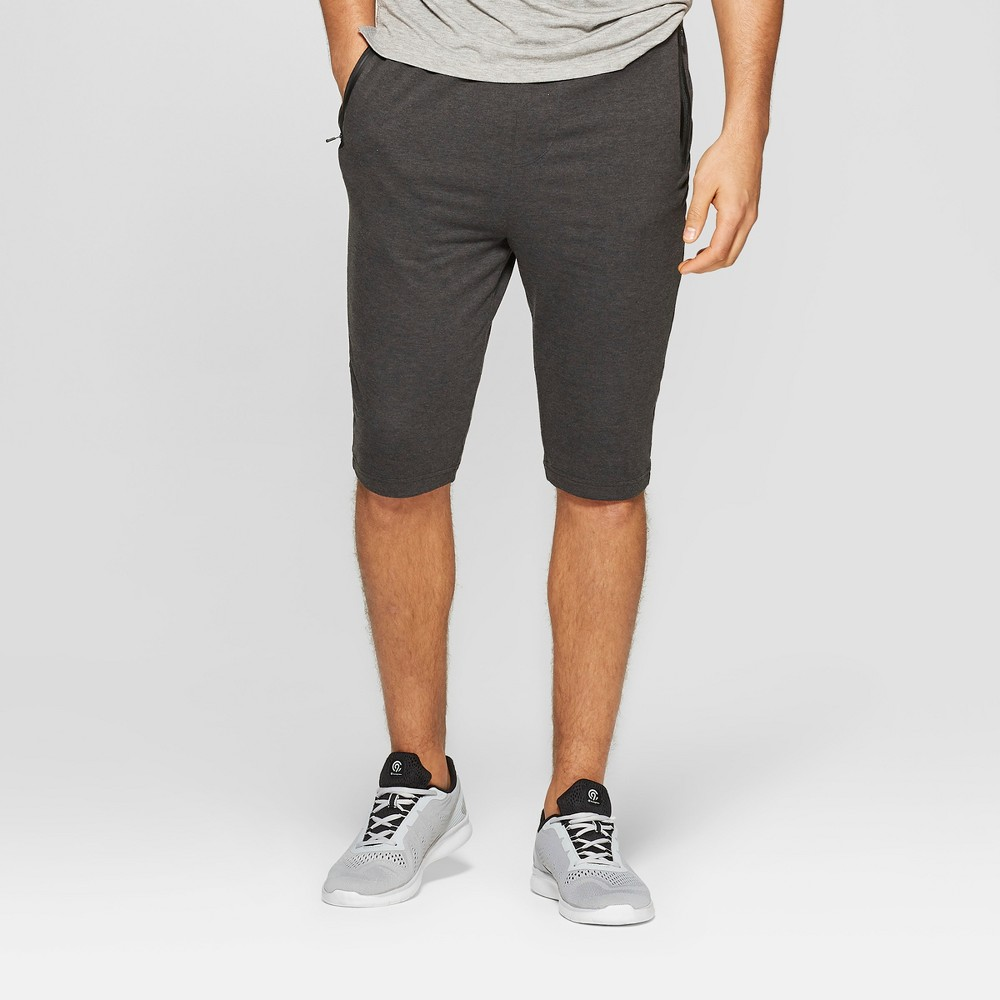 Men's Cropped Pants - C9 Champion Black Heather M