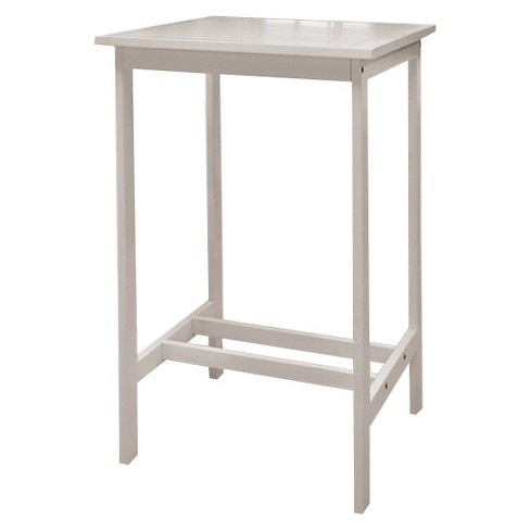 Vifah Bradley Outdoor Wood Rectangular Dining Table - White - image 1 of 2
