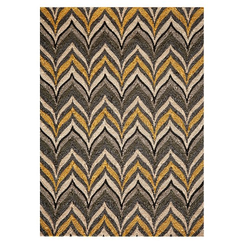 Barcelo Area Rug - Gold/Gray - image 1 of 2