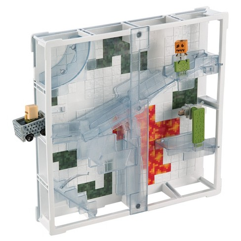 Hot Wheels Minecraft Stacktrack Trackset - 4 - image 1 of 7