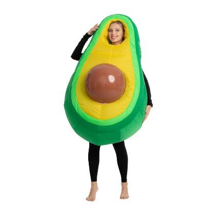Adult Avocado Inflatable Halloween Costume One Size