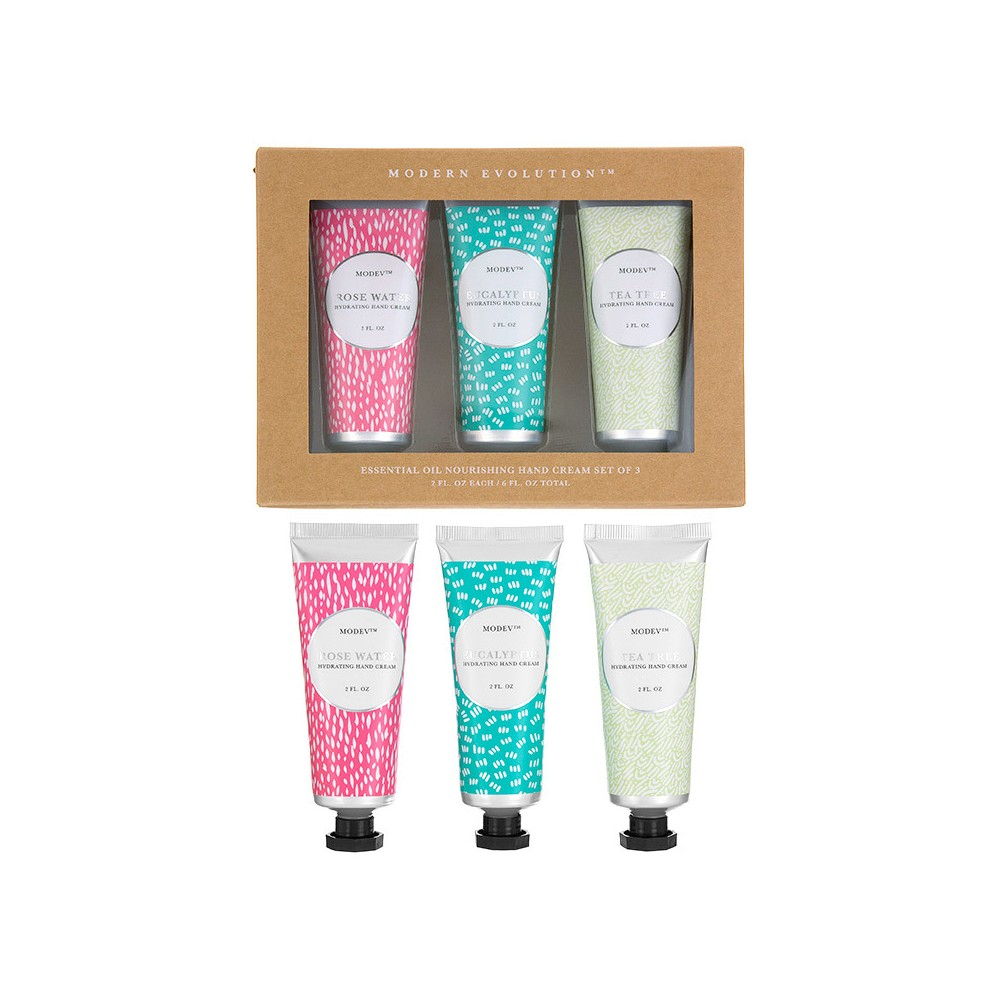 Modern Evolution Essential Oil Hand Creams Assorted Scents - 6oz - Target Beauty