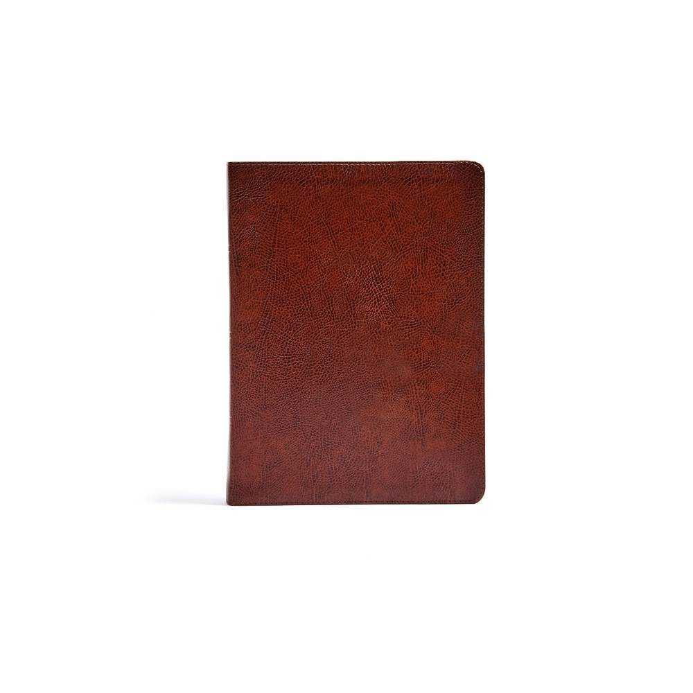 Csb Verse By Verse Reference Bible Brown Bonded Leather Leather Bound