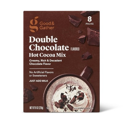 Double Chocolate Flavored Hot Cocoa Mix - 8oz - Good & Gather™