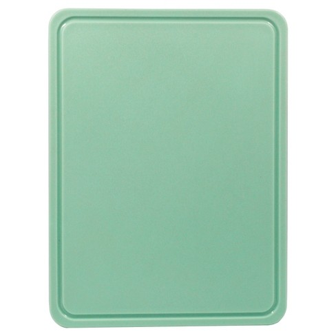 Medium Cutting Board with TPR Foot Caribbean Aqua - Room Essentials™ - image 1 of 2