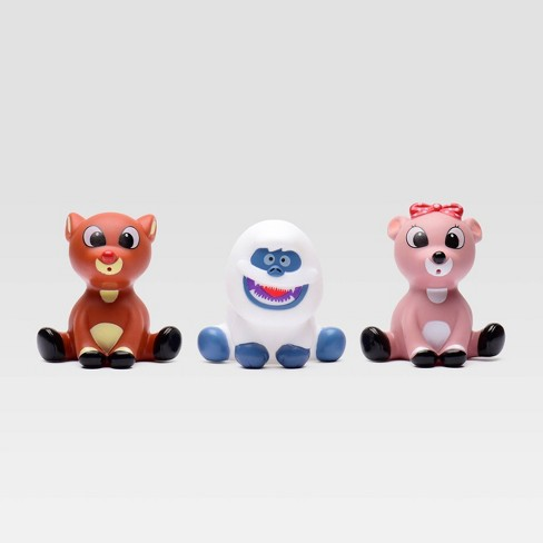 Rudolph the Red-Nosed Reindeer Bath Squirts - 3pc - image 1 of 2