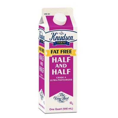Knudsen Fat Free Half & Half - 1qt