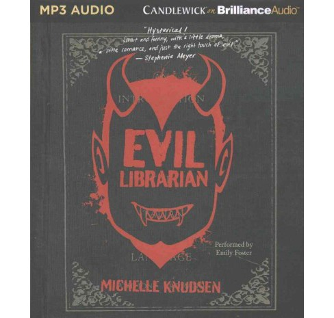 Evil Librarian (MP3-CD) (Michelle Knudsen) - image 1 of 1