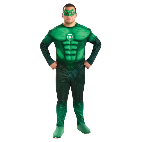 Men's Lantern Hal Jordan Costume Green XL(42-46) - image 1 of 1