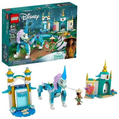 LEGO Disney Raya and Sisu Dragon Building Toy 43184