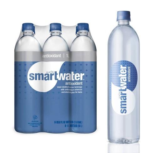 Smartwater Antioxidant Vapor Distilled Water - 6pk/ 1L Bottles - image 1 of 3
