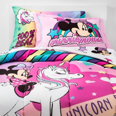 Twin Minnie Mouse Bed in a Bag