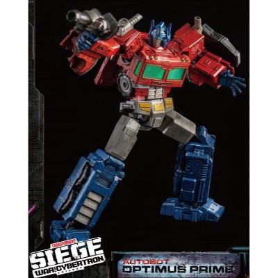 DLX Optimus Prime Collectible Figure | Transformers War For Cybertron Trilogy Dlx Scale Action figures