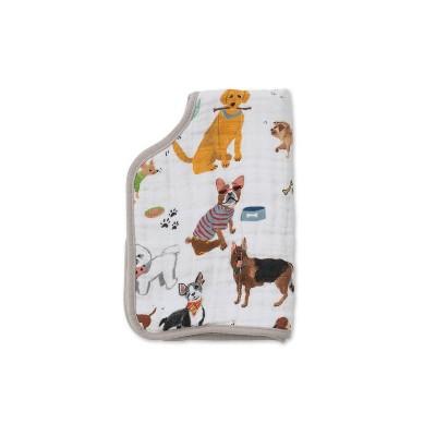 Little Unicorn Cotton Muslin Burp Cloth - Woof