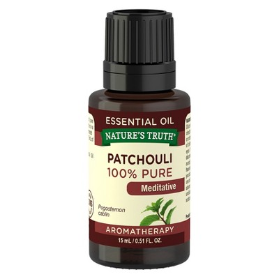 Nature's Truth Patchouli Dark Aromatherapy Essential Oil - 15mL