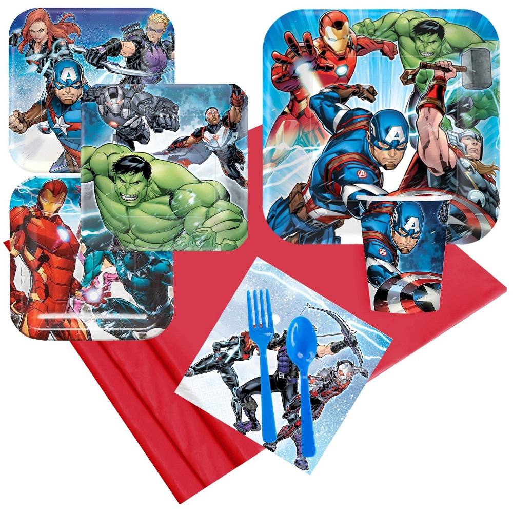 8ct Epic Avengers Party Pack, Multi-Colored