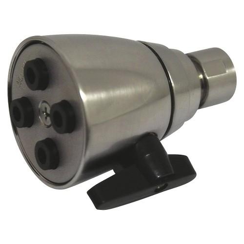 Four Jet Solid Brass 2-inch Shower Head Satin Nickel - Kingston Brass, Satin Nickle