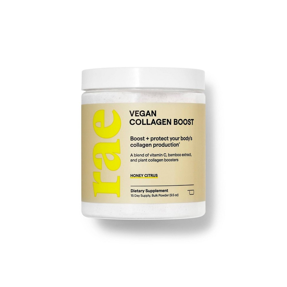 Image of Rae Vegan Collagen Boost Dietary Supplement Bulk Powder - Honey Citrus - 9.5oz, Adult Unisex