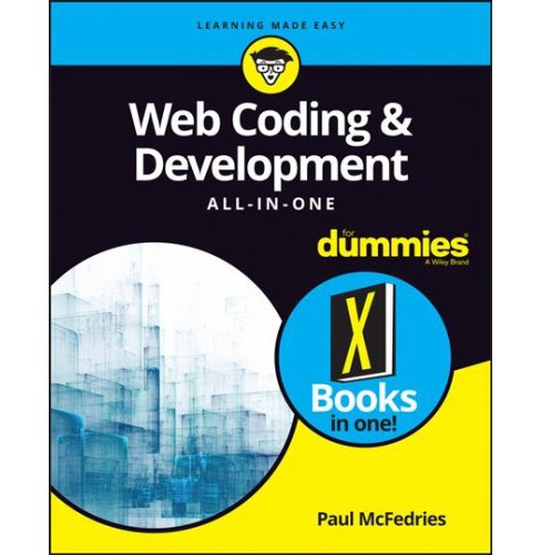 Web Coding & Development All-in-One for Dummies -  by Paul McFedries (Paperback) - image 1 of 1
