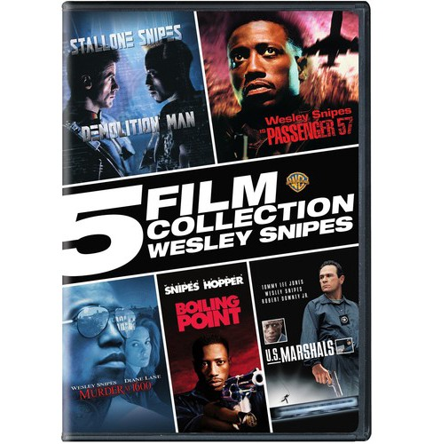 5 Film Collection:Wesley Snipes (DVD) - image 1 of 1