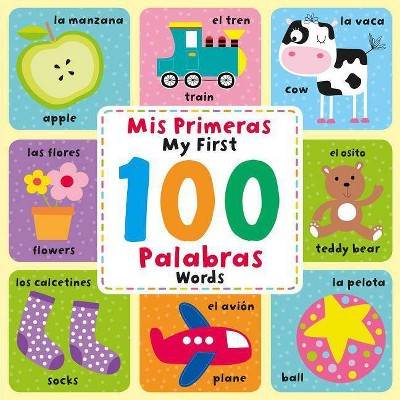 MIS Primeras 100 Palabras/My First 100 Words - by Igloo Books (Board Book)