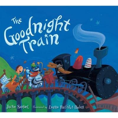 The Goodnight Train - by June Sobel (Board Book)