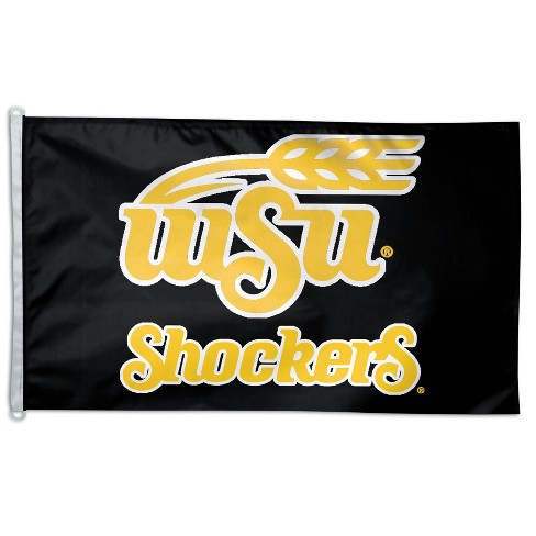 NCAA Wichita State Shockers 3'x5' Deluxe Flag - image 1 of 1